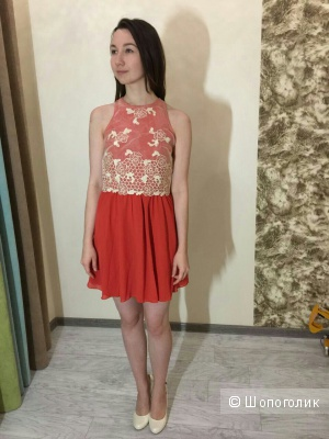 Платье Little Mistress с кружевным лифом