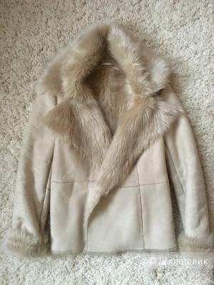 Короткое зимнее пальто на меху Zara