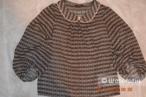 Шифоновая блузка, р 48