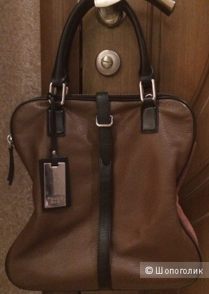 Кожаная сумка Tosca Blu.