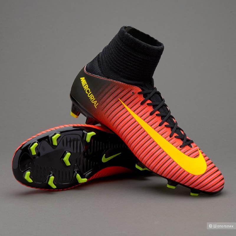 Бутсы Nike Mercurial Superfly. Полупрофессиональные. Размер  US 8 (EUR 41). cdae521f7df