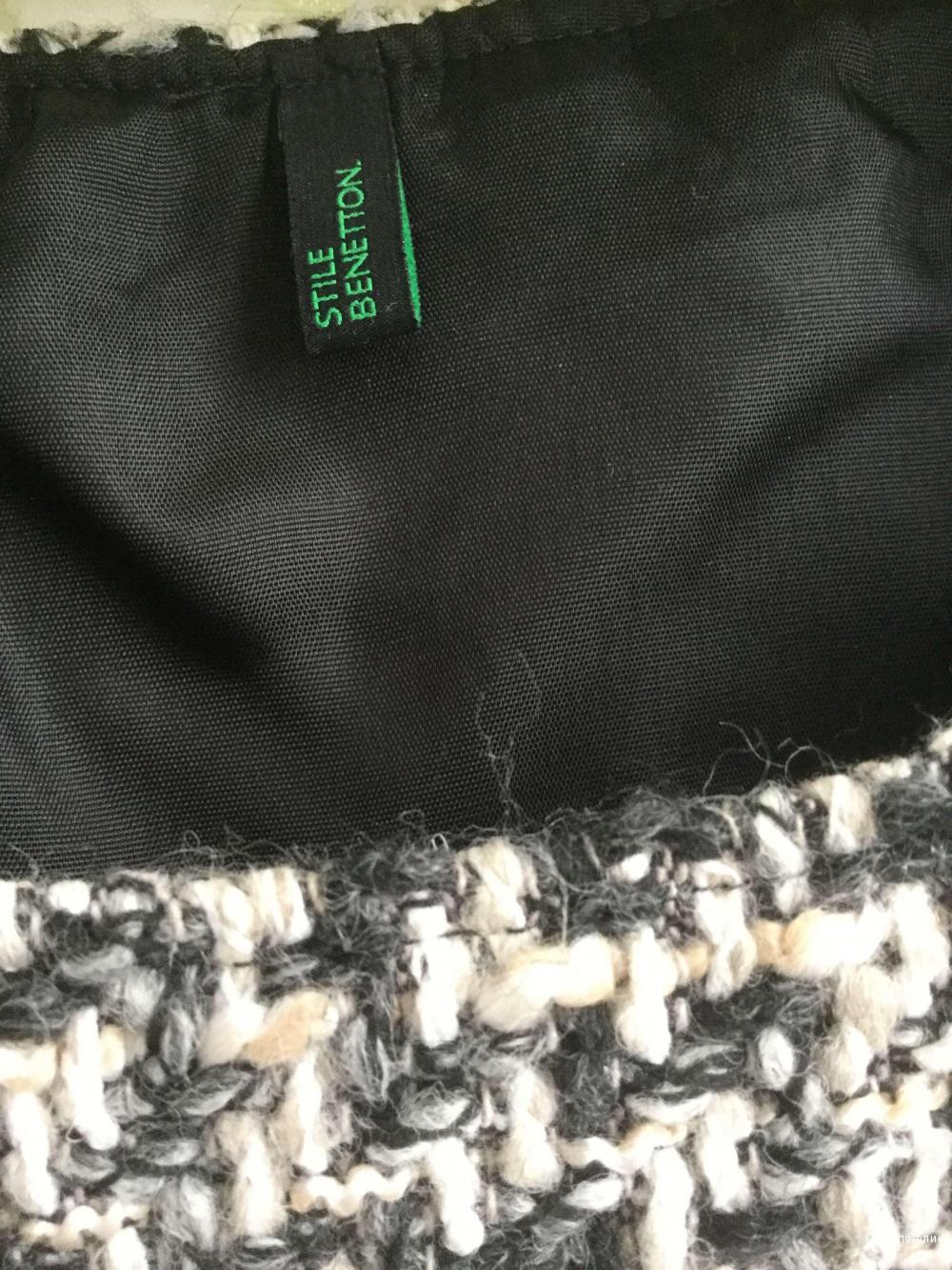 Теплое платье Benetton, размер XS