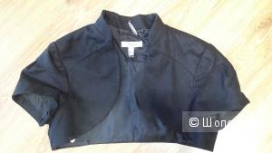 Болеро Mango suit черного цвета размер L