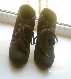 Ботильоны ботинки CARNABY 37 размер замша серые