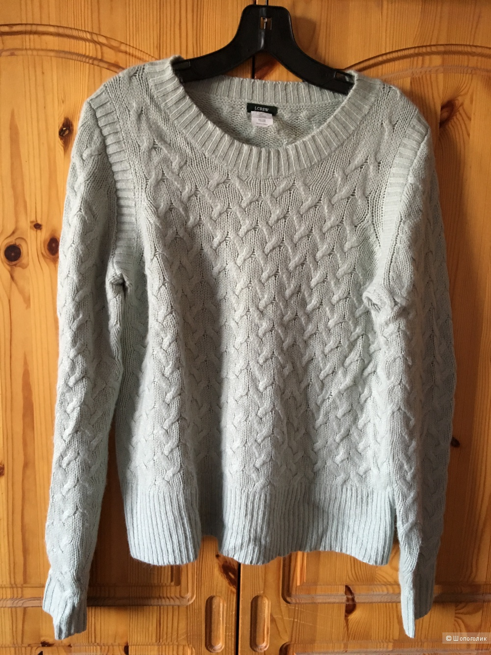 Мятный свитер J Crew размер М