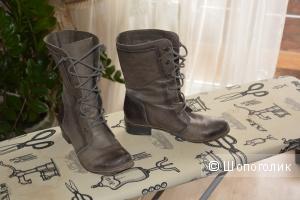 Ботинки из кожи SK размер 40