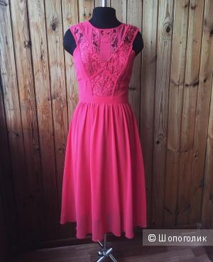 Безумно красивое коктейльное платье
