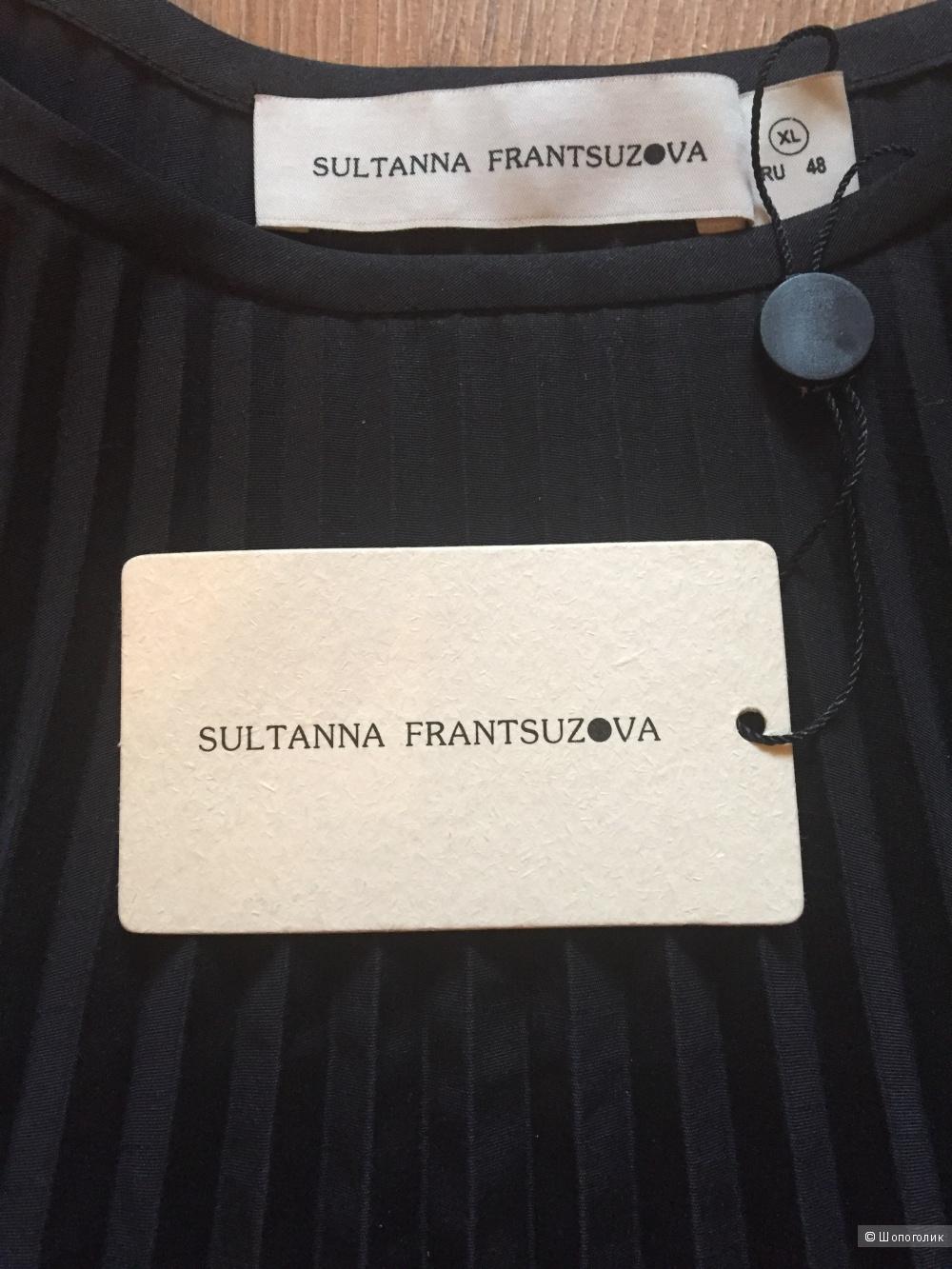 Юбка чёрная гофре Sultana Frantsuzova