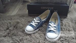 Кеды- балетки Converse, размер 35-35.5, новые, в коробке