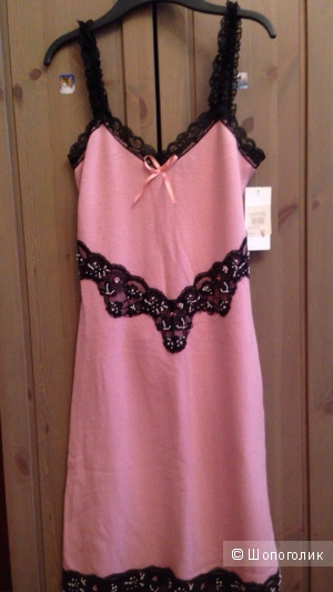 Новое трикотажное платье с кружевом Rinascimento р.44-46