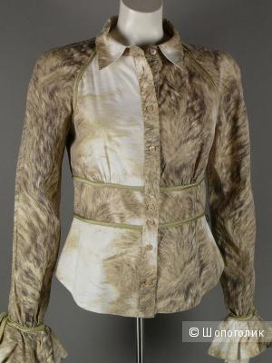 Новая рубашка - блузка Just Cavalli, р 42 (итальянский)