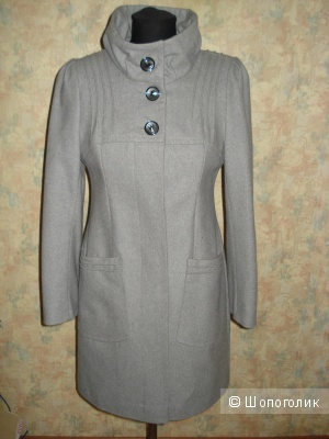 Новое кашемировое пальто Korall р.42
