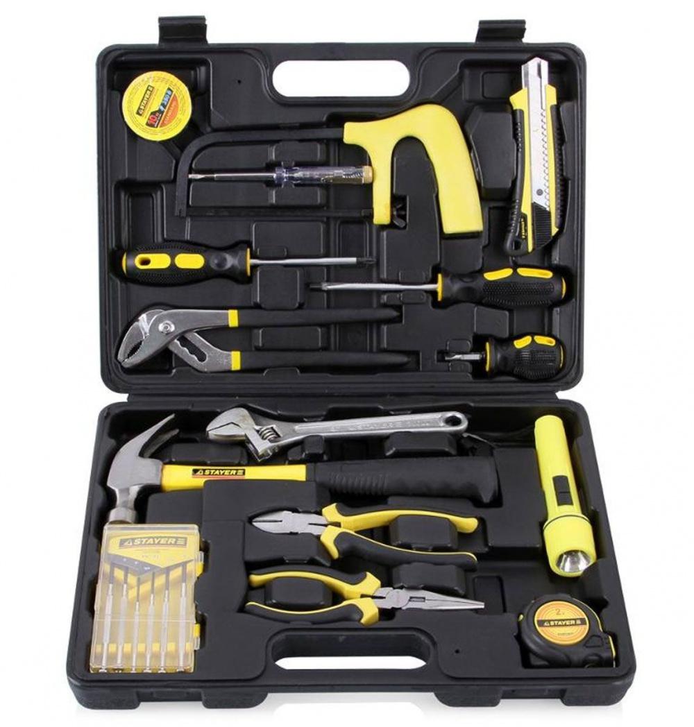 Набор инструментов stayer standard механик 22052-h15