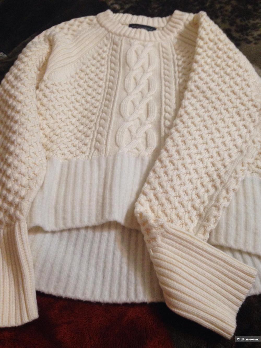 Новый свитер banana Republic крупной вязки