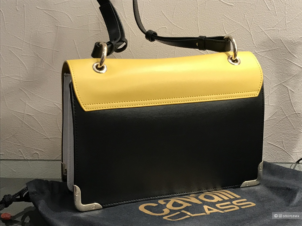 Сумка color-block Class Cavalli