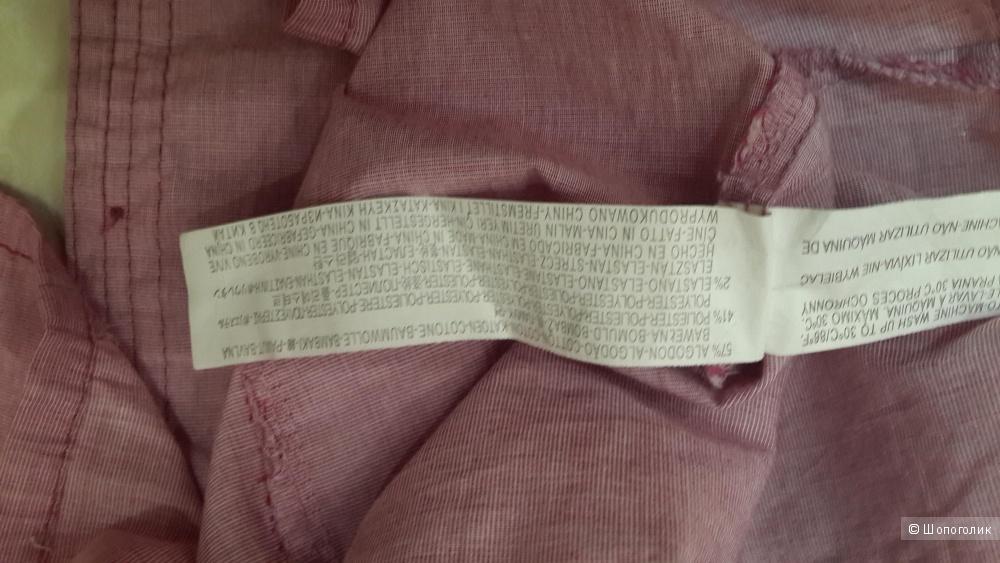 Рубашка с длинным рукавом Bershka размер L можно М