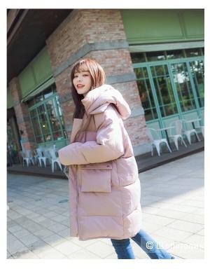 Зимнее пальто на синтепоне новое, с биркой