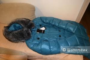 Пуховик куртка женская 46-48 (L) размер Skinn Wille