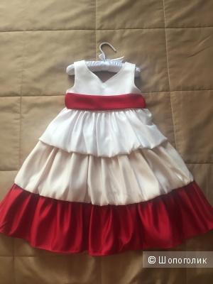 Нарядное платье+болеро, на рост до 104 см