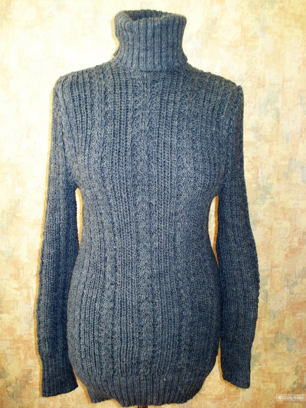 Новое трикотажное платье на осень-зиму noname р. 40-44