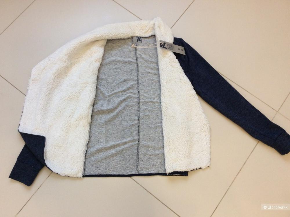 Трикотажная кофта-куртка без застёжки Redhill на р.46-48-50