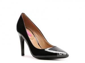 Новые дизайнерские лаковые туфельки Isaac Mizrahi, р.37, черные