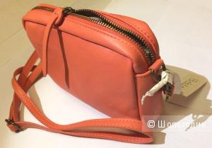 Маленькая сумка кросс-боди 3Chic, Италия, нат. кожа