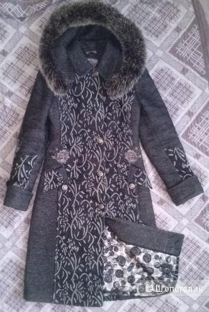 Пальто утепленное  42-44