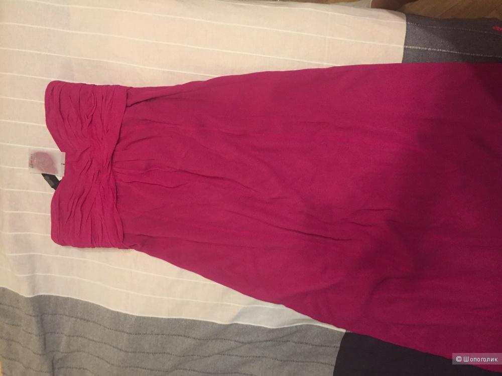 Новое шёлковое платье Ted baker в пол