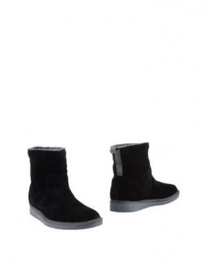 Ботинки PANCHIC 37 размер натуральная замша чёрные