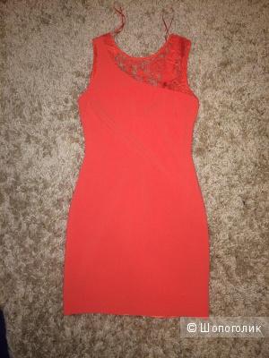 Платье с открытой спиной, Размер 42