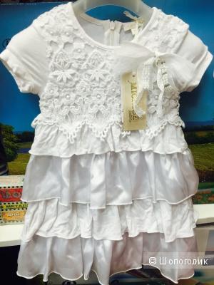 Детское нарядное платье итальянской марки Microbe
