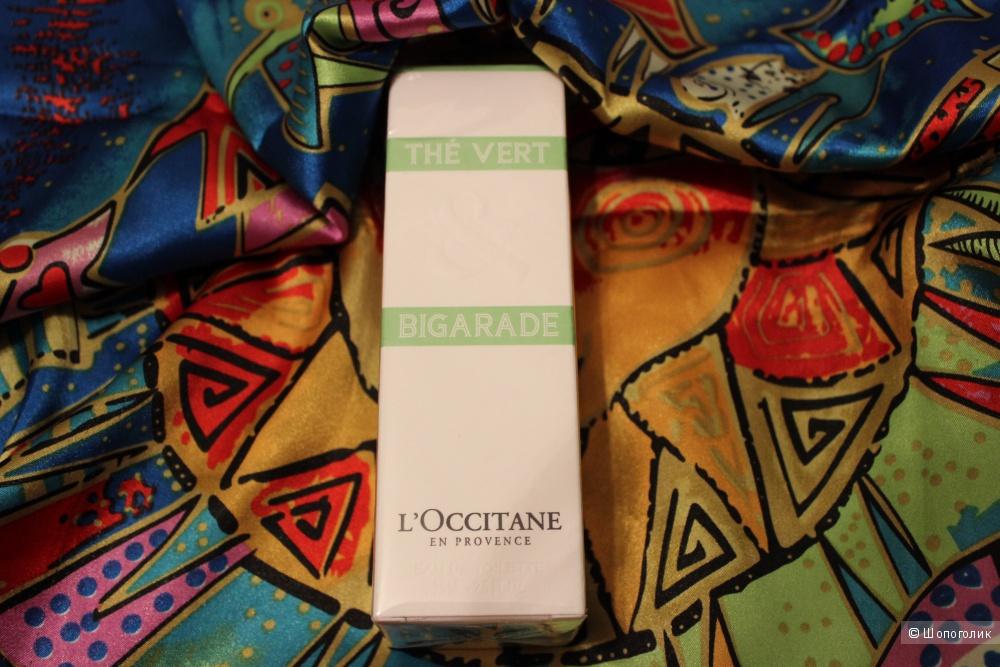 Туалетная водичка, оригинал The VERT & BIGARADE, L`OCCITANE EN PROVENCE, Франция, 75 мл.