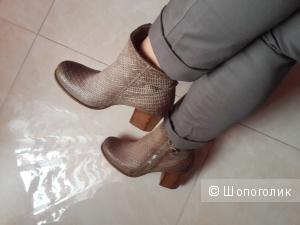 Кожаные ботинки бренд A.S. 98, (airstep) 38 размер