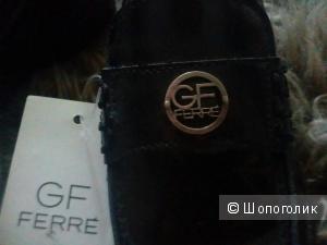 Классические черные кожаные туфли Ferre  для мальчика, 31 размер