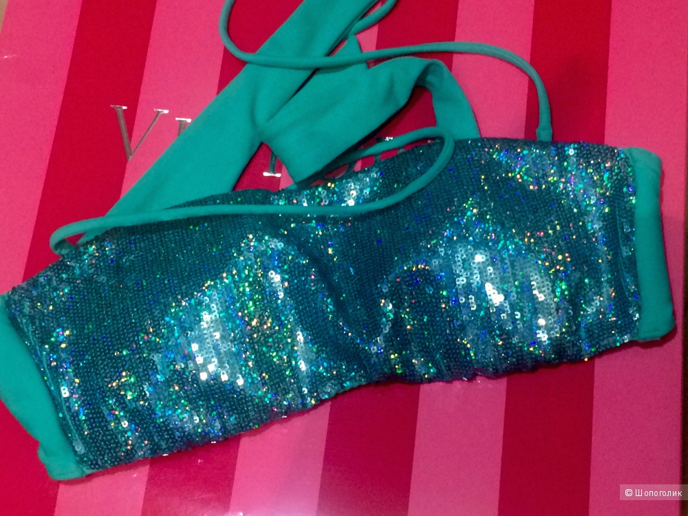 Бандо Victoria's Secret Bandeau Sequin Maldives
