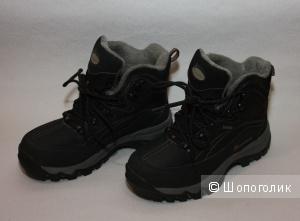 """Ботинки утепленные для мальчика """"Outventure Watersnow JR"""" 36 RU (23 см). Б/У. В очень хорошем состоянии."""