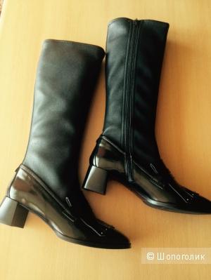 Сапоги Napoleoni кожаные итальянские 39it размер