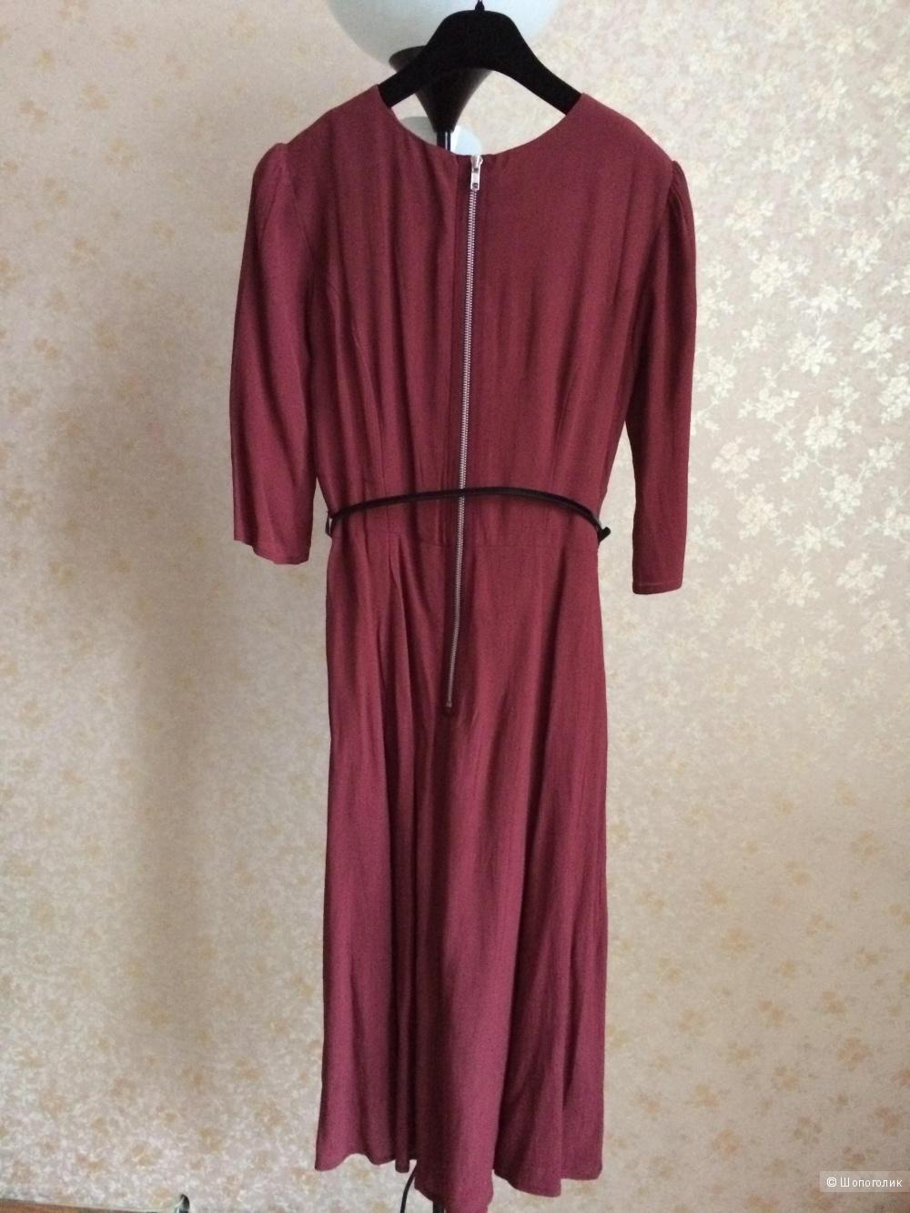 Классическое платье миди Asos р.40  (наш 42-44)
