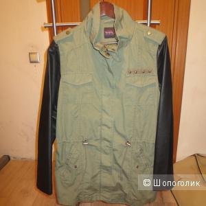 "Куртка осенняя,легкая в стиле ""милитари"""