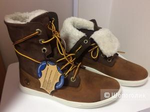 Ботинки TIMBERLAND 37 евр.размер, желто-коричневый цвет
