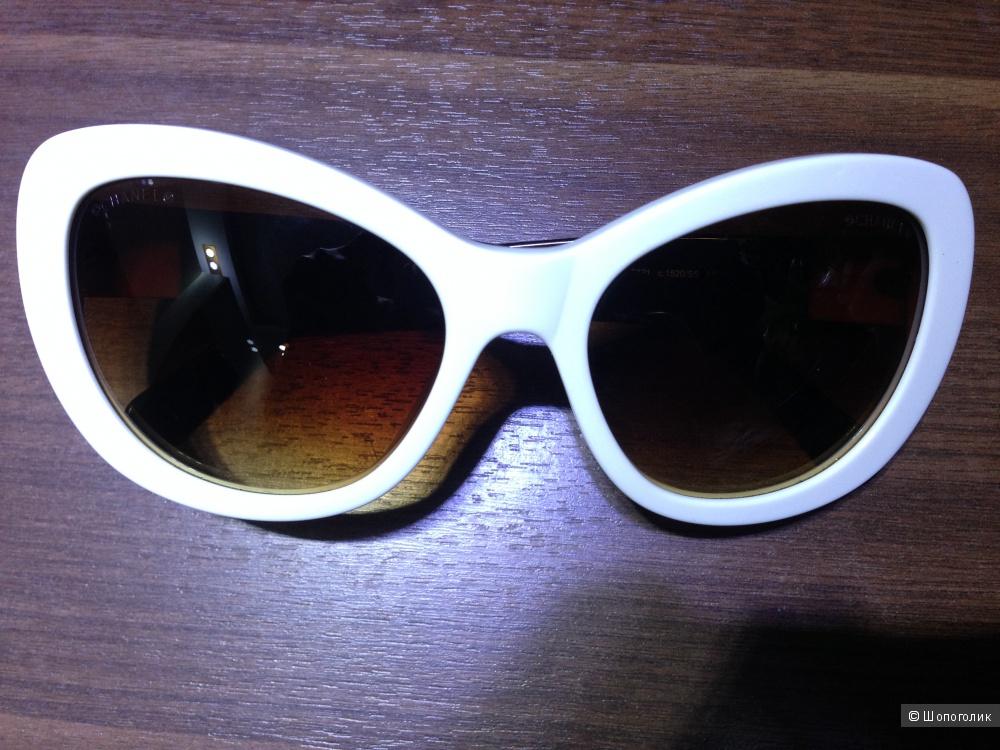"""Солнцезащитные очки CHANEL формы """"кошачий глаз"""" в идеальном состоянии.Оригинал."""
