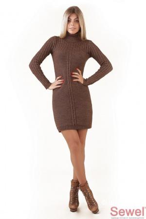 Продам вязаное платье, размер 44-46-48