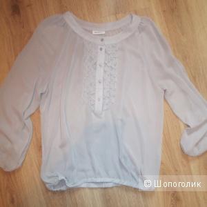 Серая блузка 46 размер