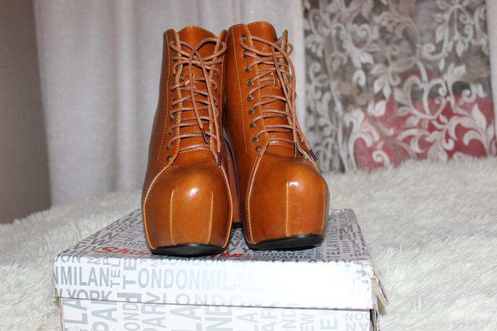 Ботильоны Jeffrey Campbell\Джеффри Кэмпбелл,ботинки размер 39,новые (копия)