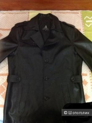 Куртка мужская кожа PU