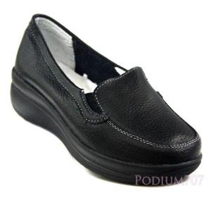 Удобные кожаные туфли. Новые! Р-р 35,5-36 на шир. стопу.