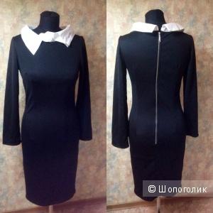 Новое платье с ассиметричным воротником Miss Lily р. 40-42
