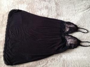 Etam, оригинал, сорочка, вискоза с кружевом, 70 А, 75А