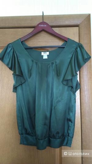 Новая блузка цвета елки